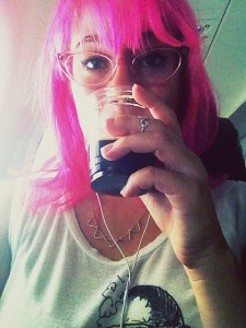 Alaska Airlines offers complimentary beer or wine on some flights. Best flight ever.