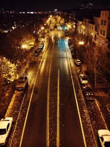 Portland city streets.