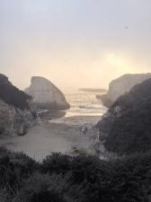 This spot is just outside Santa Cruz. Beautiful!