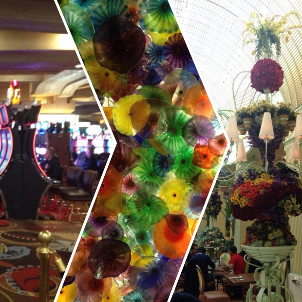 Slot machines, Chihuly at the Bellagio, and brunch at the Wynn