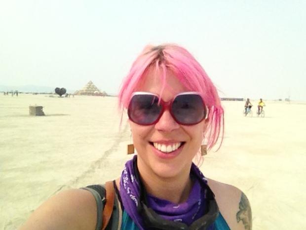 Me at Burning Man