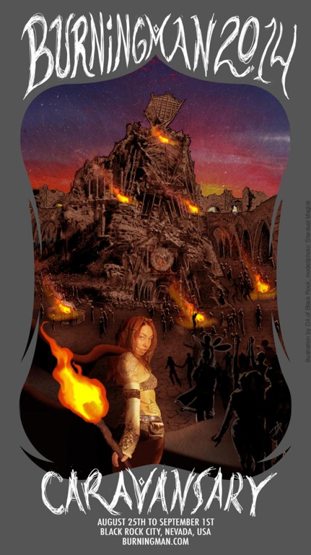 Burning Man Caravansary 2014