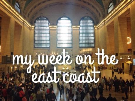 My week on the east coast