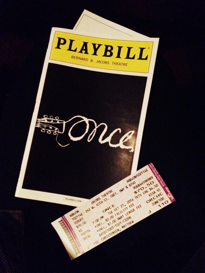 Once playbill