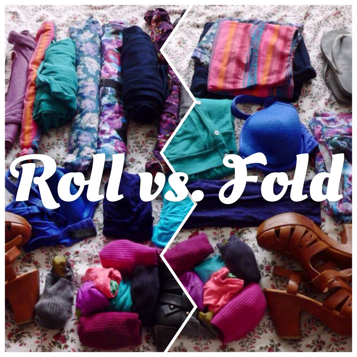 Roll vs fold what s the best way to pack to save space for Best way to pack shirts