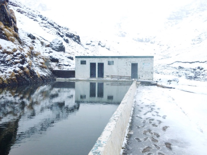 Seljavallalaug, the oldest mineral pool in Iceland