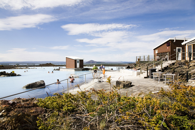Myvatn Baths by day