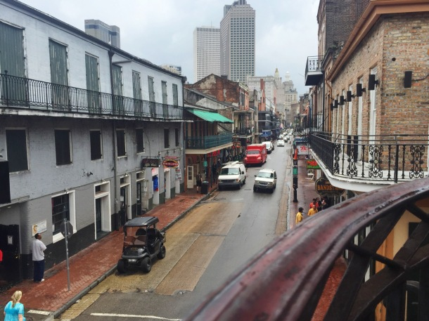 Bourbon Street after the rain