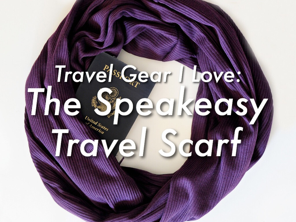 Travel gear i love the speakeasy travel scarf for Travel scarf