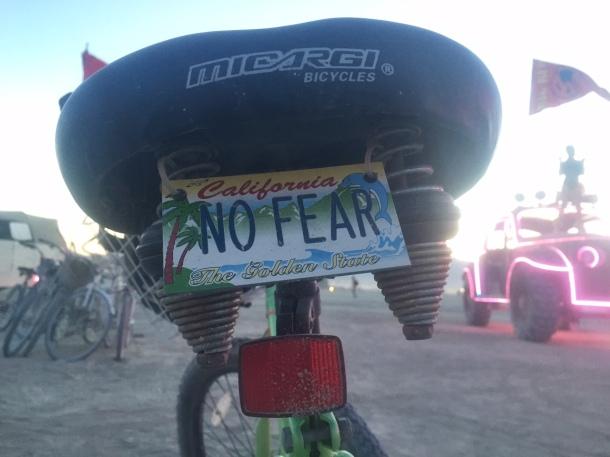 No Fear Playa bike