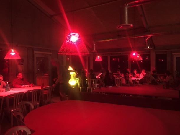 Secret diner at Burning Man