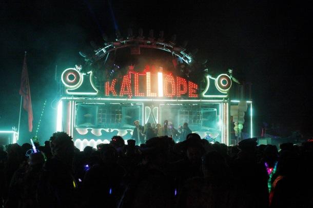 Kalliope at Burning Man