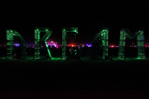 Dream at Burning Man