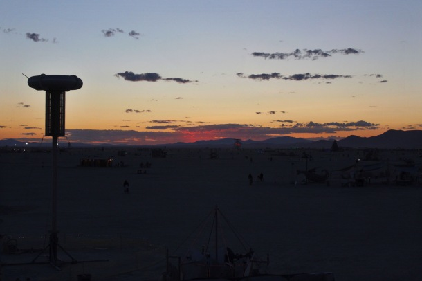 Black Rock City sunrise