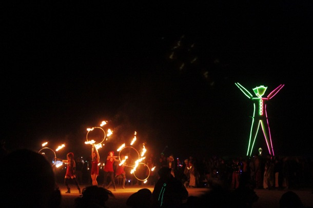 The Man Burning Man 2015