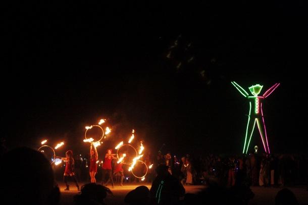 The Man Burning Man 2015